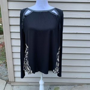 Addison viscose  and spandex blouse